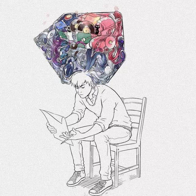 插画师 Gabriel Picolo 365天每天一幅动漫涂鸦,你能做到吗