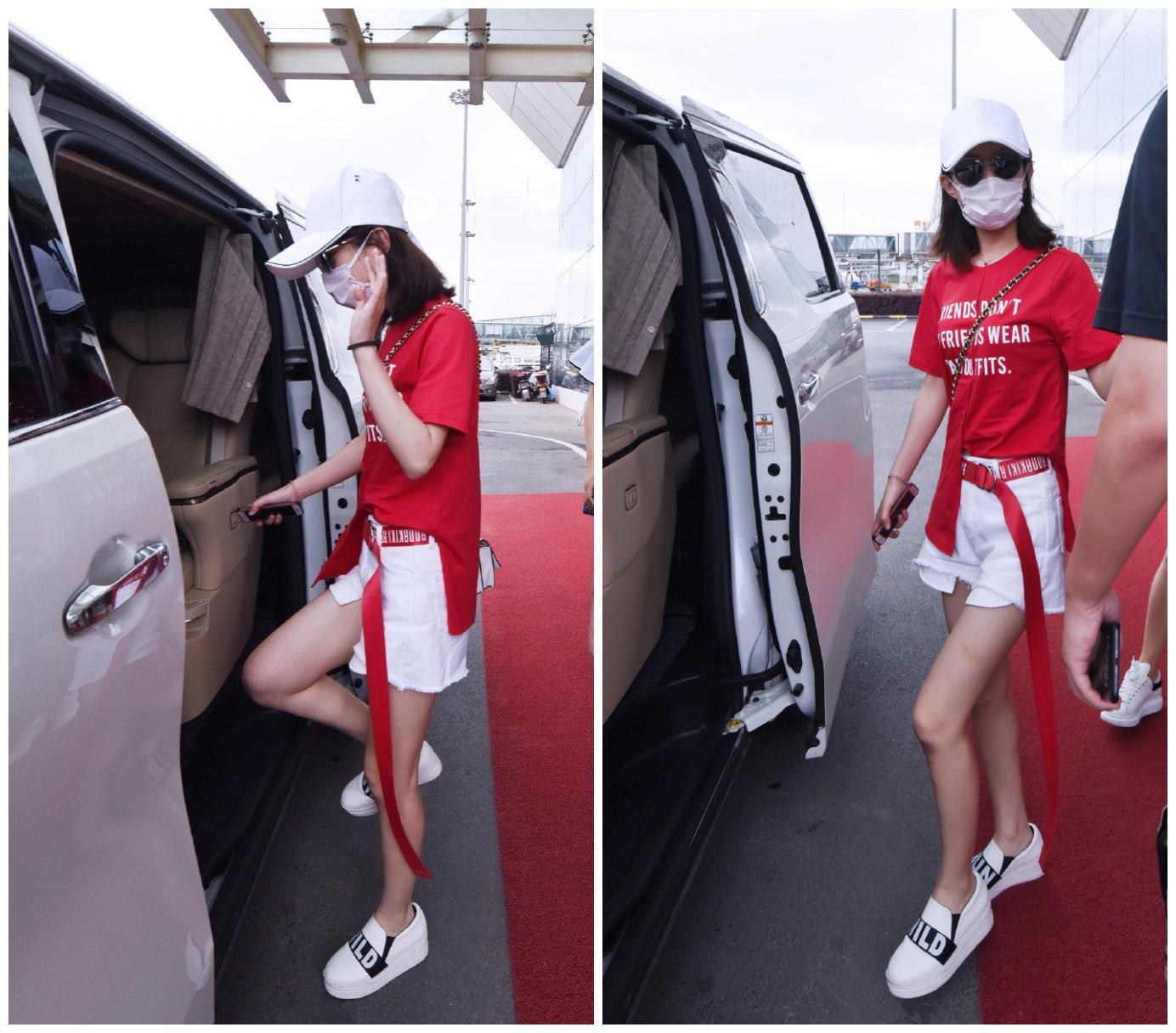 可别小瞧了这条白色短裤,10位女星竟穿出了完全不同的时髦效果