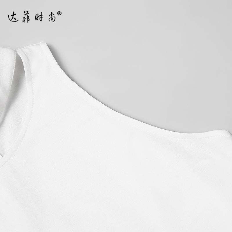 限2018夏装新款女装欧美时尚气质镂空无袖短上衣