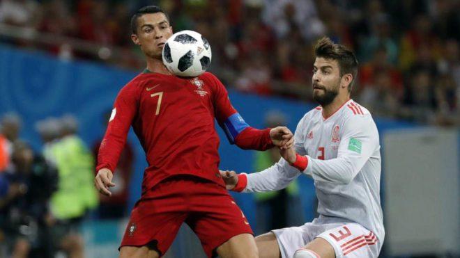 皮克:C罗有造点球嫌疑 西班牙全队相信德赫亚