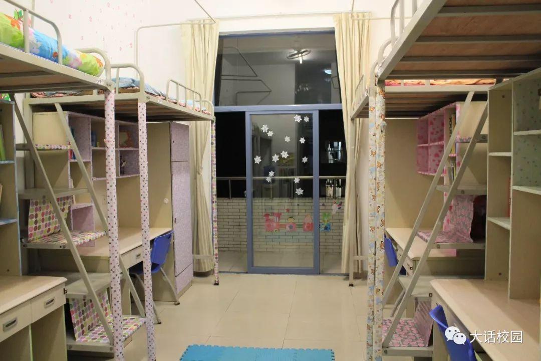 吉林大学珠海学院宿舍全部是4人标准间,超大空间,依山傍海,设有空调图片