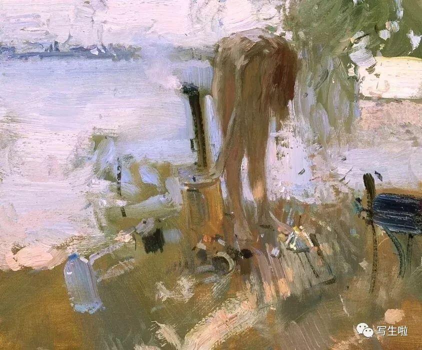 【写生啦】光影与高级灰——俄罗斯画家bato dugarzha图片