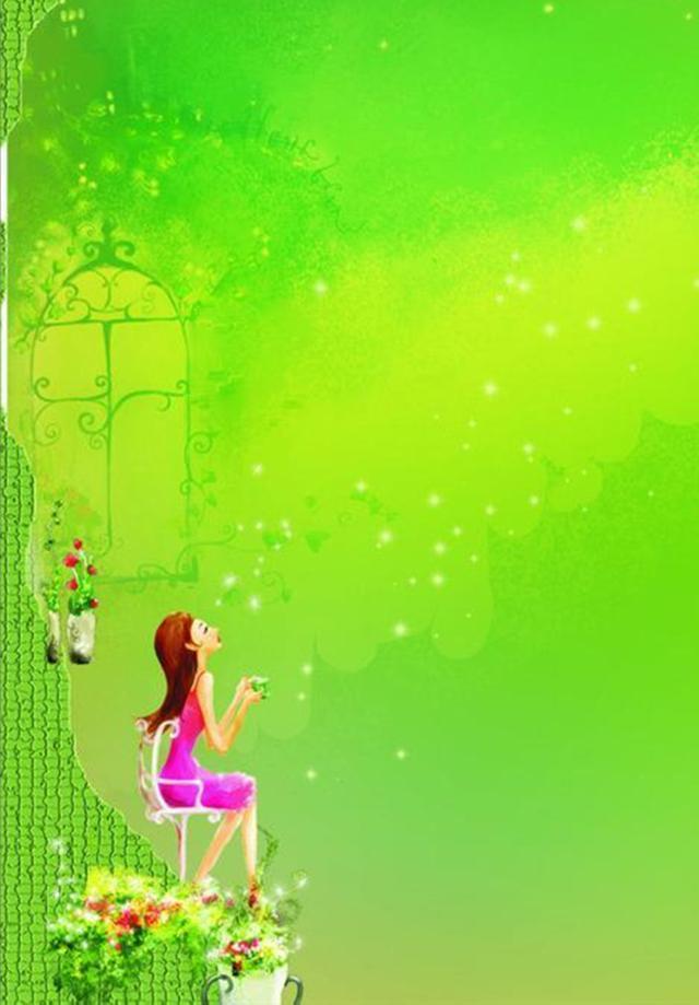 新一轮的绿色手机壁纸送给你,喜欢就打开看看