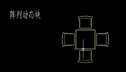 cad餐椅平面图