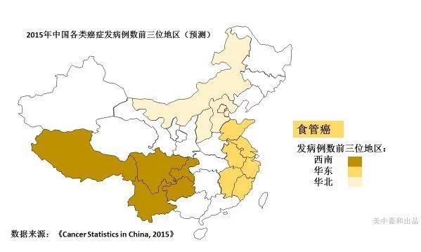 """2018最新中国""""癌症地图"""",快来看看你在癌症高发地区吗"""