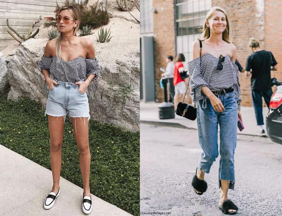 大胸VS平胸,穿同一件衣服有啥区别?!