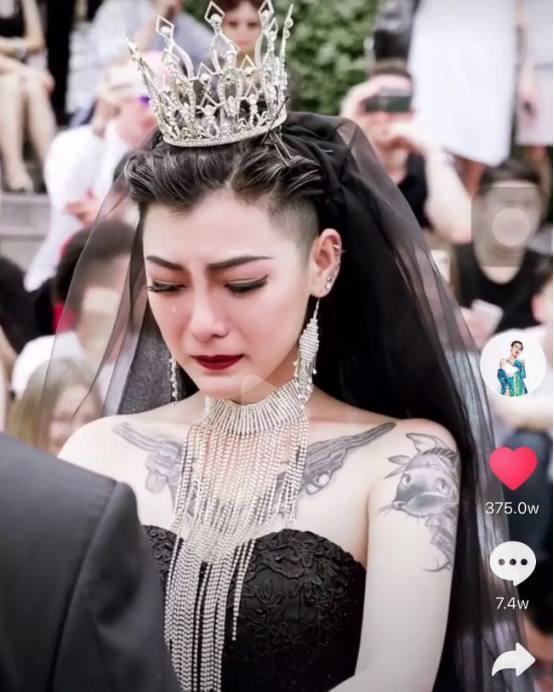黑婚纱_黑色婚纱图片