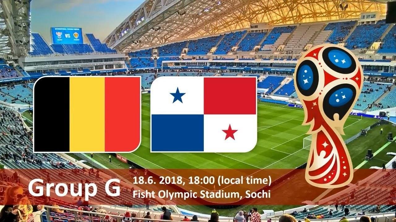 2018俄罗斯世界杯比利时VS巴拿