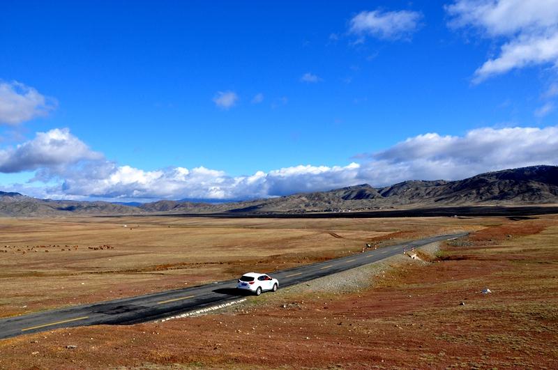 陪着老妈逛新疆——《西北最美第一村白哈巴美景在路上》