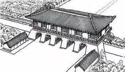 明南京城复原平面图