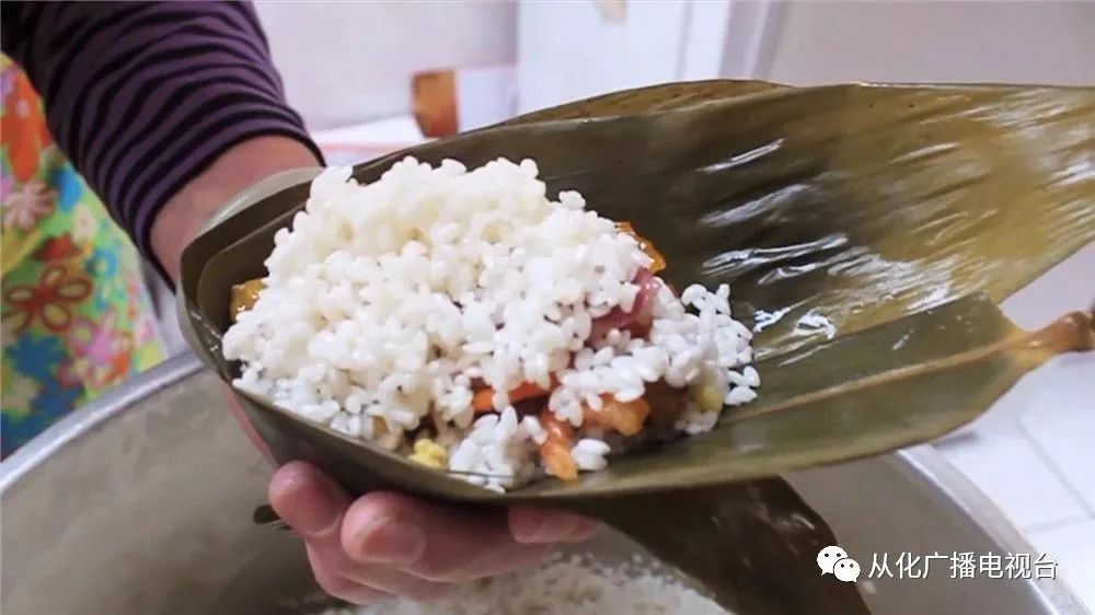 花生,红豆,肥瘦以及一猪肉牛蛙适中的香味的大块粽,咸肉浓郁,馅料满满绿豆里的冰冻超市图片