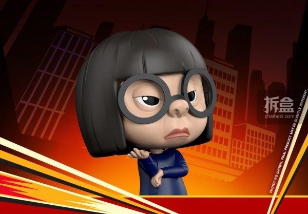 hottoys《超人总动员2》cosbaby q版公仔