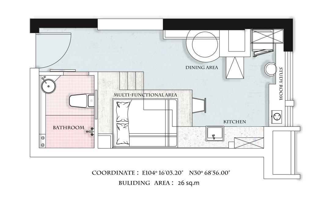 住宅公寓设计平面图