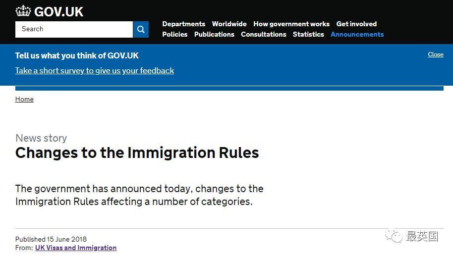 【最新】2018英国移民条例重要变更!永居申请、工签放宽、学生签简化、T1更严!