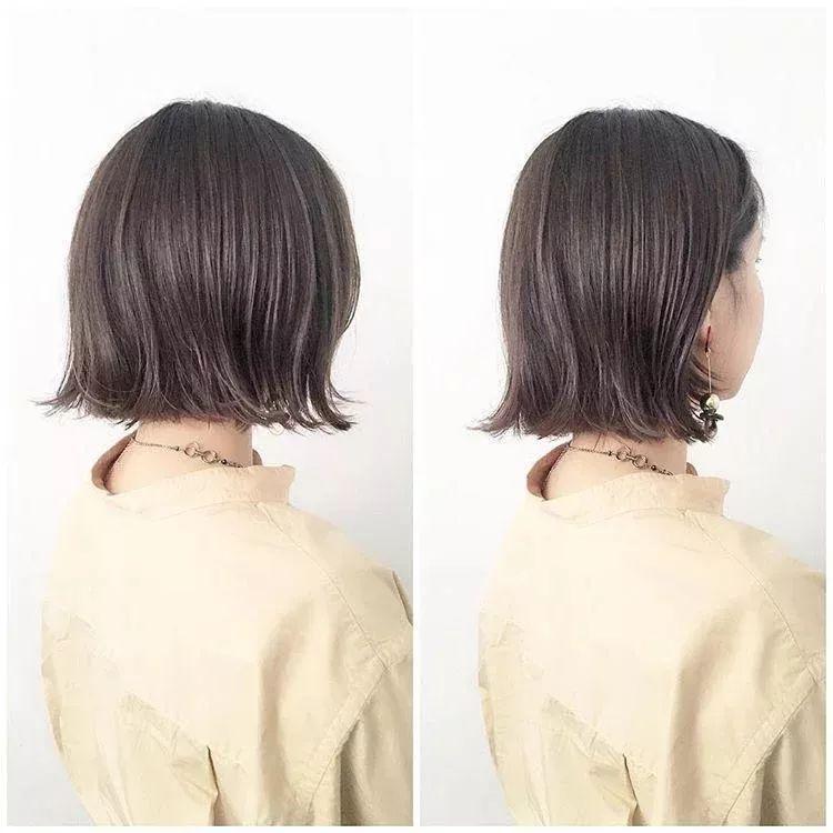 剪一个直发短发发型真的很活泼可爱,波波头风格更是时尚又有潮流感.