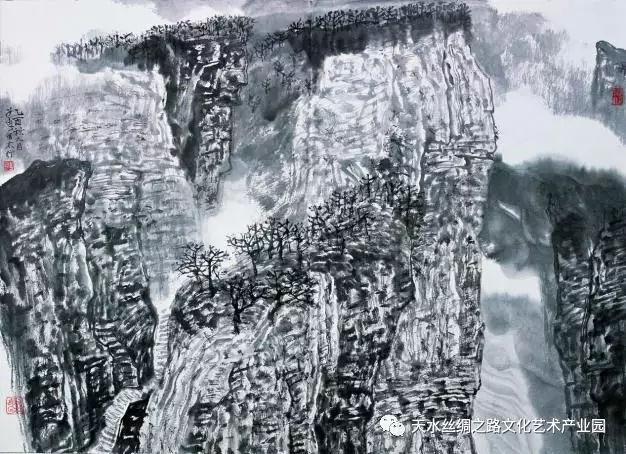 著名画家郭子良先生 2018年甘肃天水暑期写生班