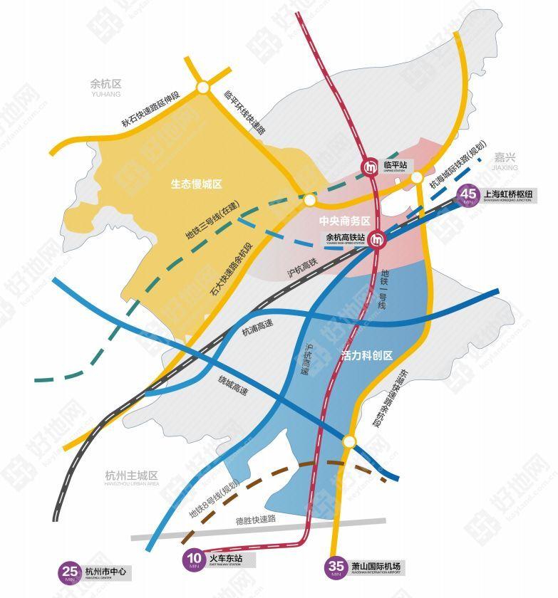 臨平新城將推101畝商住地:有哪些價值看點?圖片
