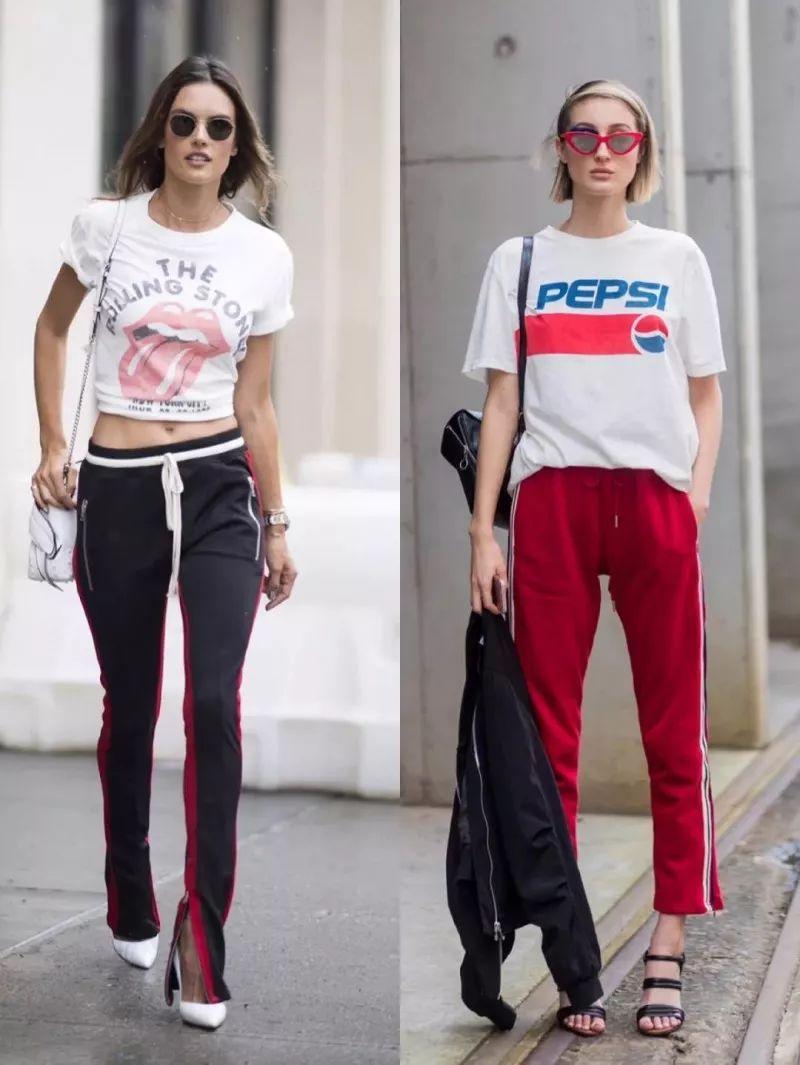 这些运动裤也能穿出爆棚的时尚感!