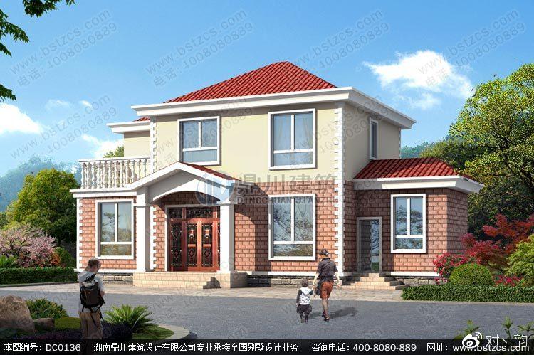 二层农村自建房屋设计效果图及施工图_搜狐社会_搜狐网图片