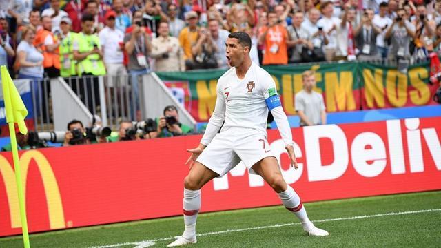 世界杯-C罗头球闪击创历史葡萄牙1-0送摩洛哥出局