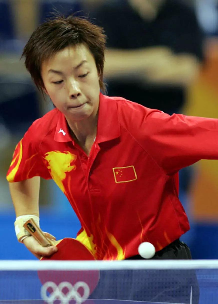 中国历届乒乓球运动员