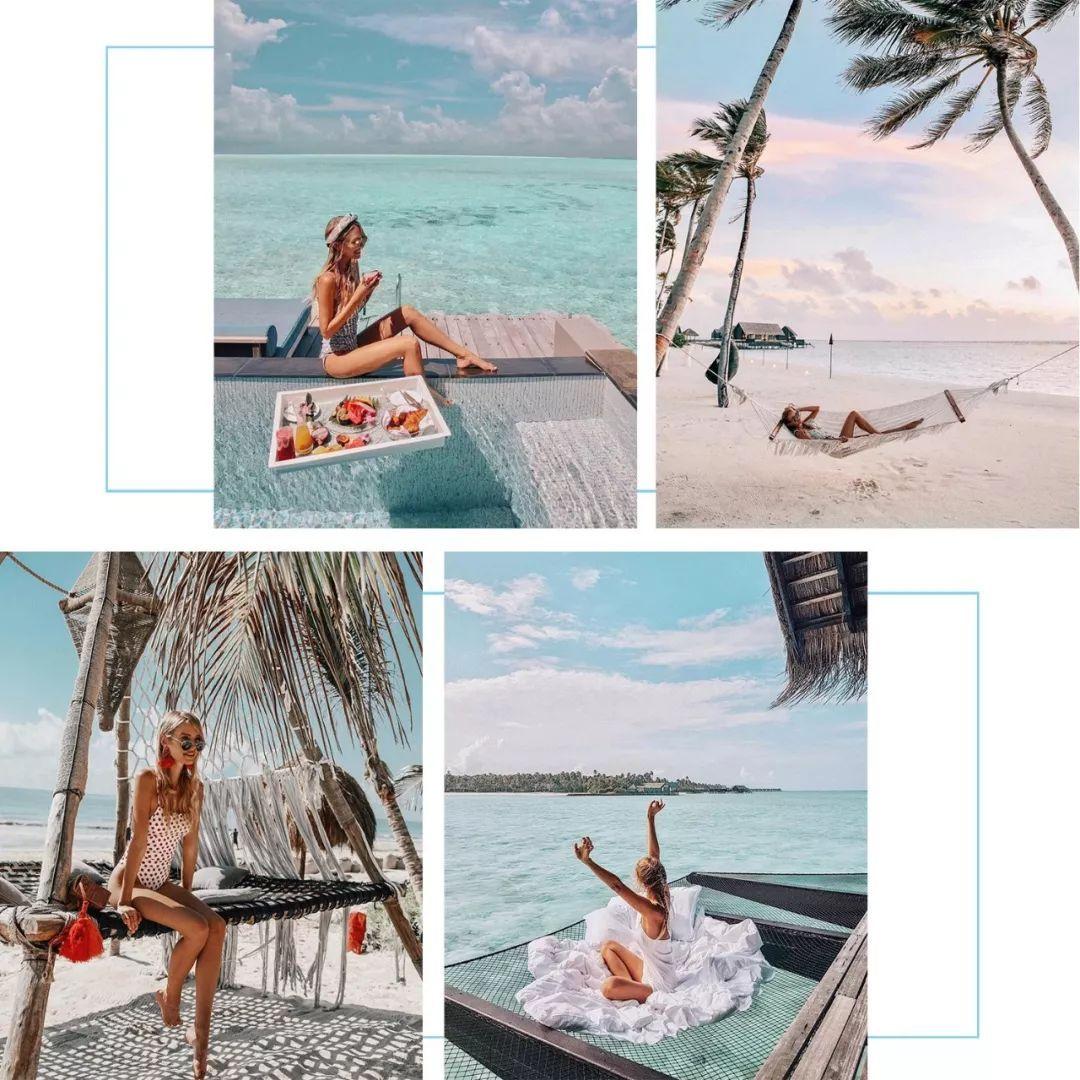 这个夏天,海岛和泳衣最配