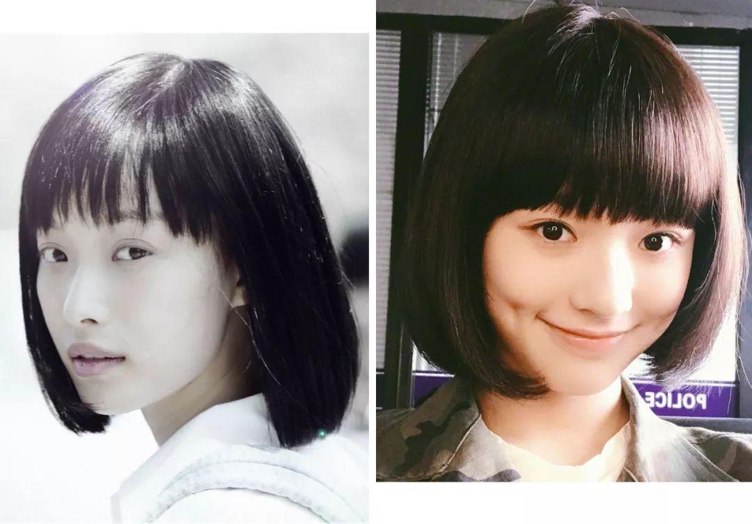 样的短发烫发剪短发韩式适合女生图片女中发型图片