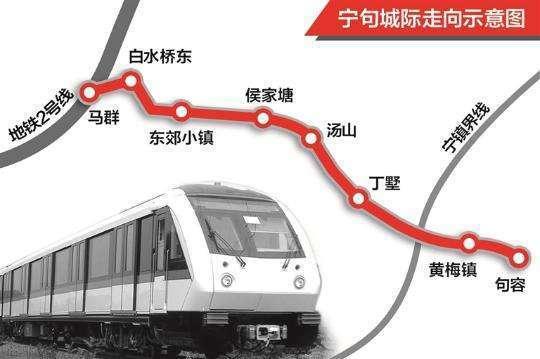 南沿江高铁句容规划图