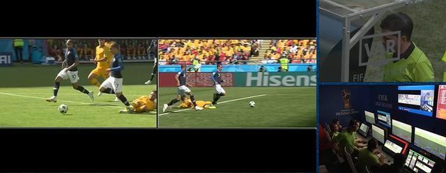 无论VAR多么给力,世界杯的公正依旧在主裁判手里…