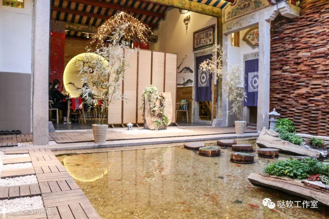 但我们觉得是好事 店里的设计师cp 给我们提供了 原来潮汕民居 有影有图片
