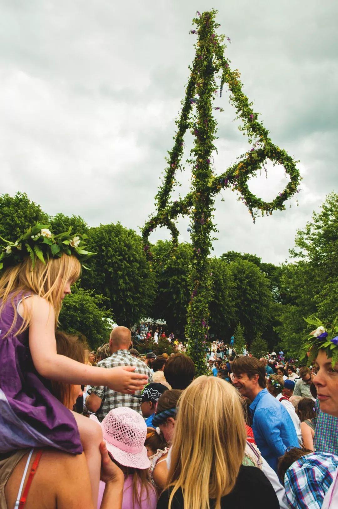 致敬这最漫长的白昼 | 瑞典仲夏2018之灵感地图