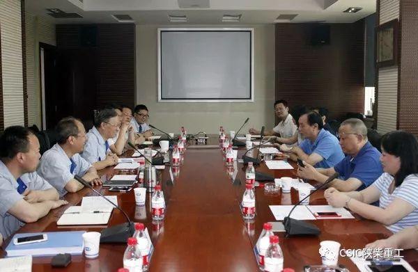 武船董事长_武船集团董事长、党委书记杨志钢来陕柴重工访问