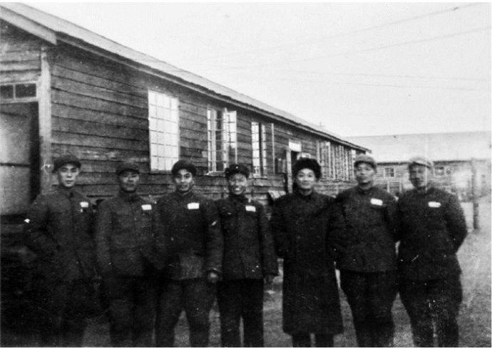 1953年志愿军代表在板门店珍贵影像