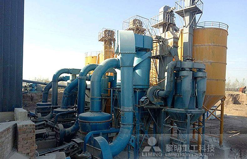 电厂 钢厂脱硫石灰石制粉工艺及磨机选配