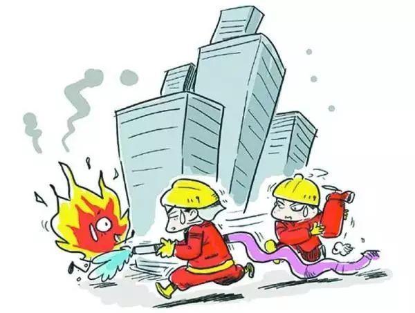 高层消防火灾扑救