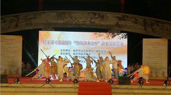 广西武术交流大会在桂平市举行(视频资讯)