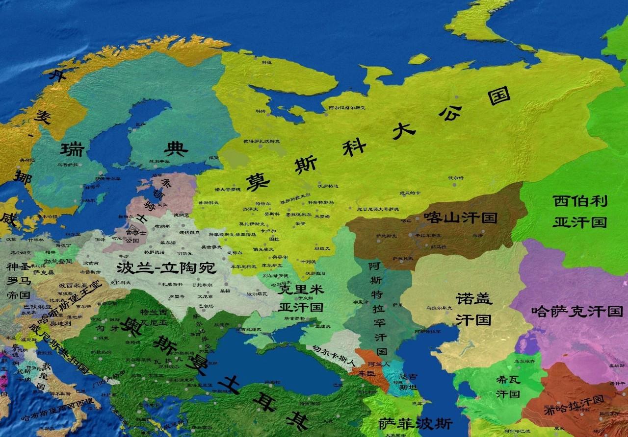 俄罗斯历史上划时代的强人,一手缔造沙皇俄国早期版图图片