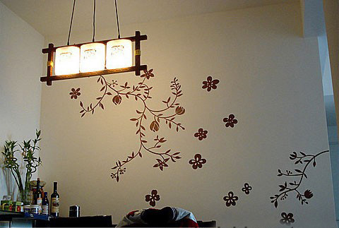 手绘墙,太美了