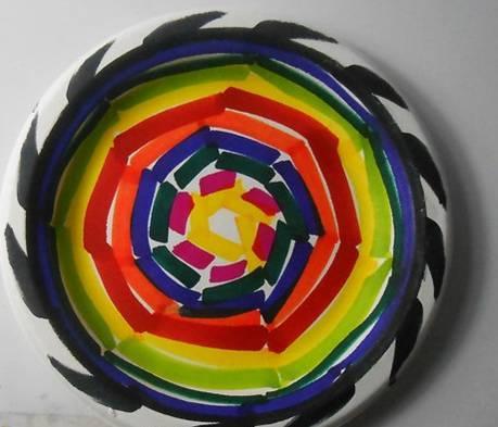 幼儿园创意纸盘画,美美哒!