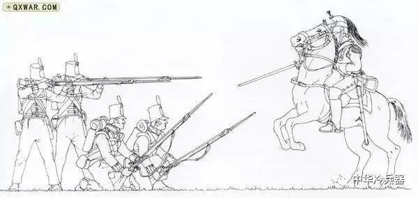 英国古代士兵简笔画
