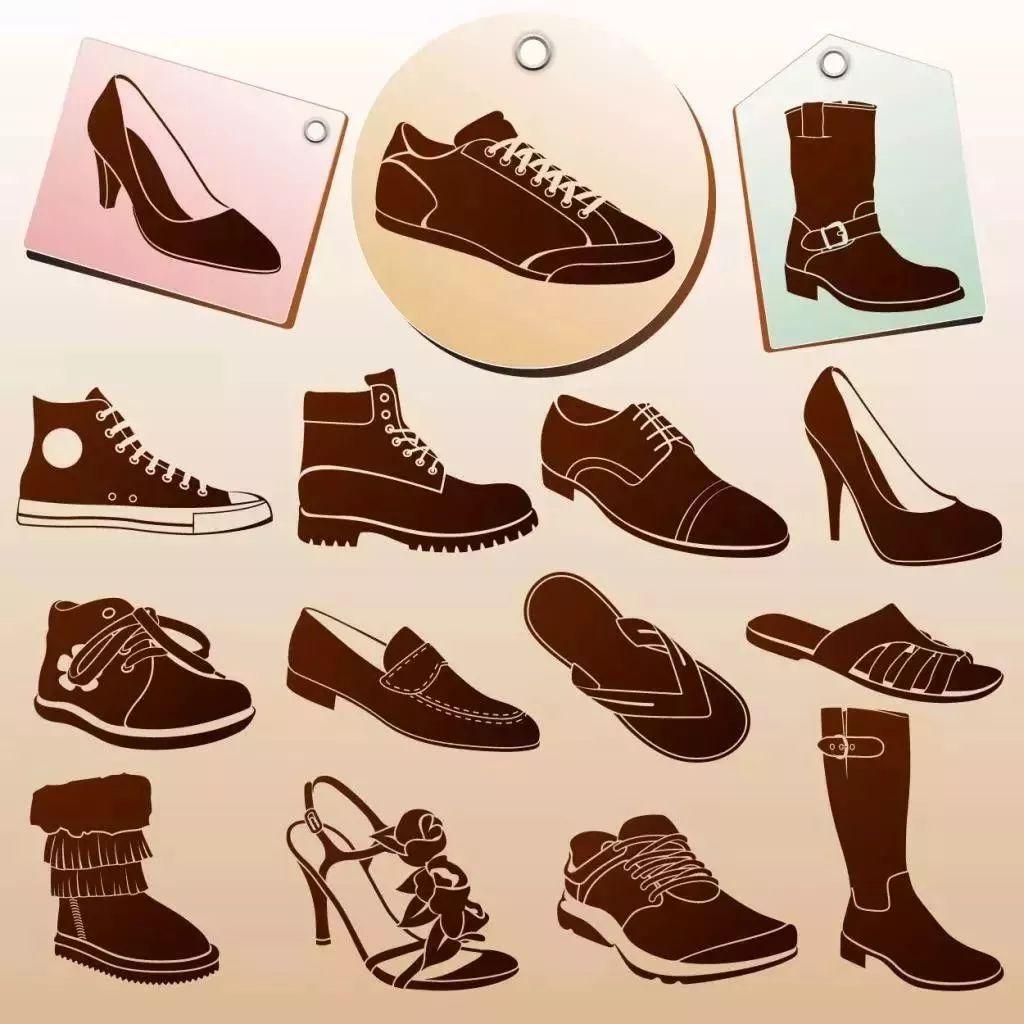 鞋子手绘图片设计图