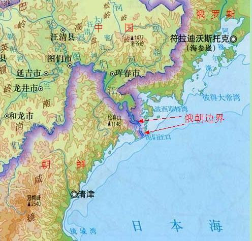 中国东北出海口_中国东北为何没有出海口,15公里的距离只能望海兴叹?