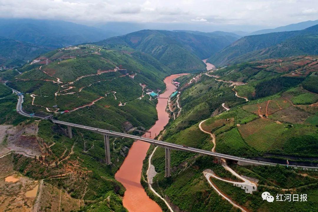 你知道吗 红河,在这里完成了一次华丽丽的转身