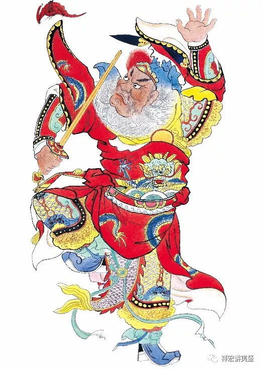 宋代笔记中皮场大王显灵的故事:祥宏讲夷坚之皮场护叶生