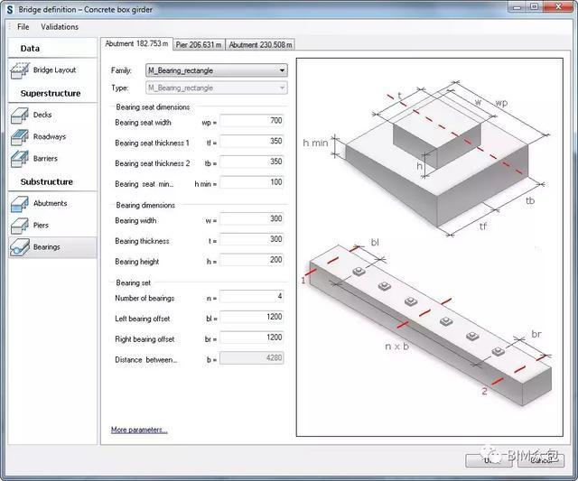 BIM丨每日一技Revit+Structure与Civil3D在桥梁绘制js图表结构图图片