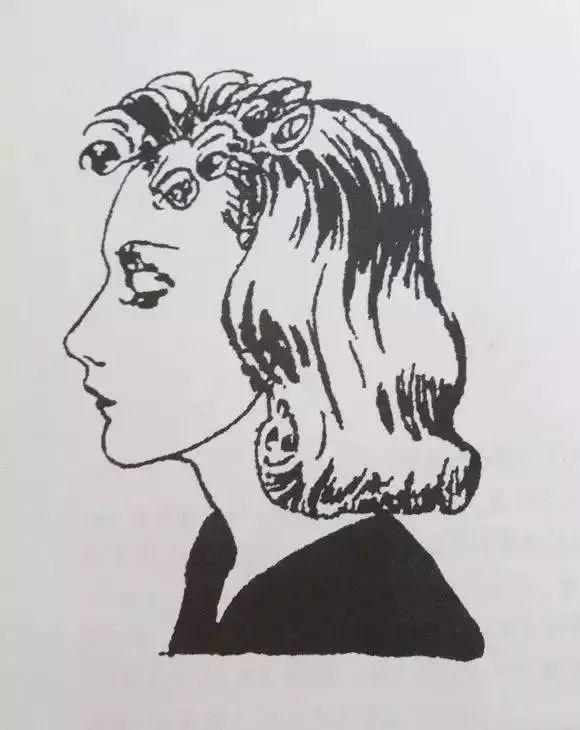 张爱玲隐瞒了她最惊艳的身份 天才插画师