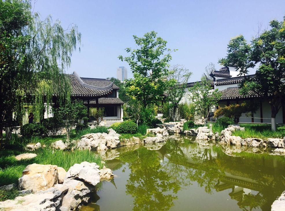 天津这座苏式园林有望月底开放!地铁直达!图片