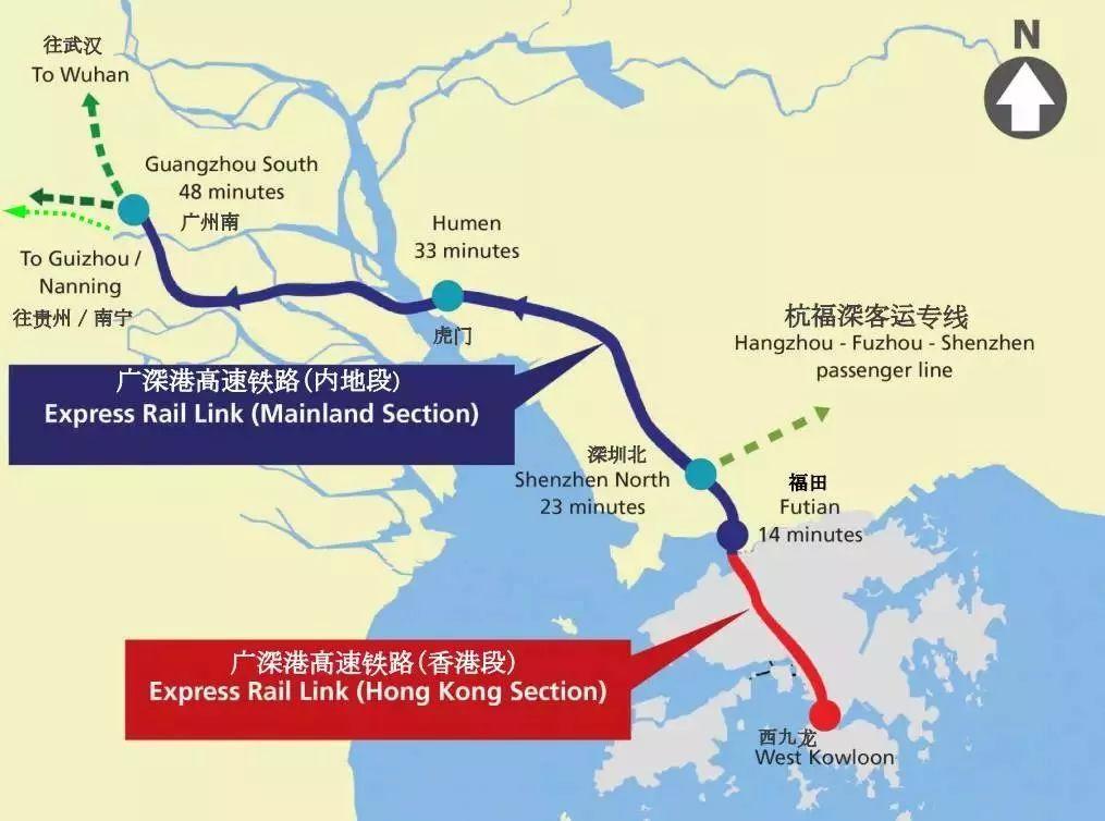 高铁又传好消息!香港!海南!桂林……即将通车!