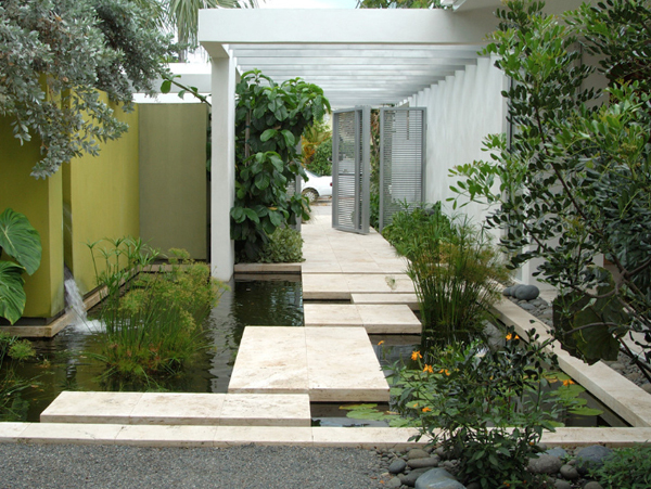 花园地面如何设计
