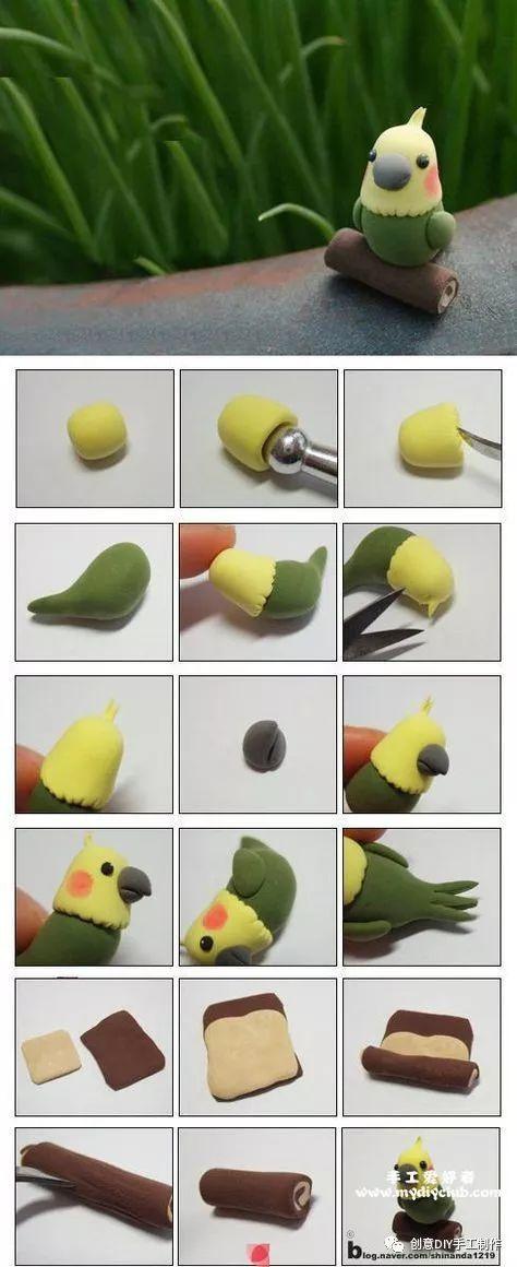 宠物 正文  粘土的手工制作教程虽然看起来非常的复杂,但是真正当你